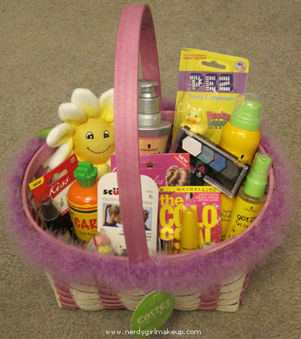 Nerdy girl makeup blog archive my easter basket the basket negle