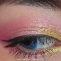 PinkAndYellowMakeup