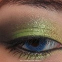 SmokeyBrightGreenLook