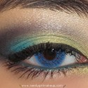 BrightBlueAndGreenLook