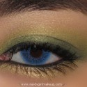 ShimmeryGreenAndYellowLook