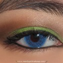 InglotGreenAndBrownLook