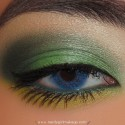 FunGreenMakeupLook