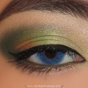 GreenAndCoralLook