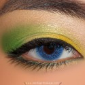 BrightGreenAndYellowLook