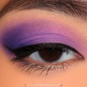 MakeUpForEverPurpleMakeupLook