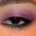 HalfWildPurpleMakeupLook