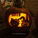 HelloKittyPumpkinCarving