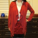 BetseyJohnsonSequinCrimsonSkirt