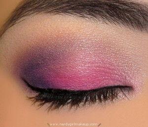 nerdy girl makeup 187 blog archive 187 bright purple and pink