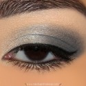 InglotGrayAndSilverMakeupLook