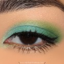 InglotBlueAndGreenMakeupLook